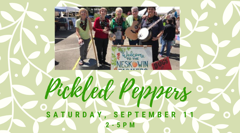 Pickled Peppers! Live Bluegrass!